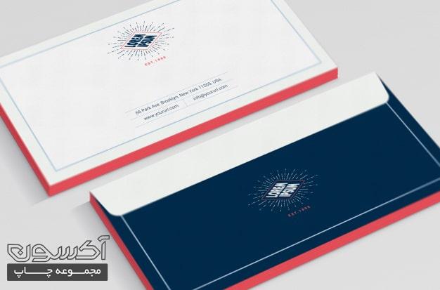 چاپ پاکت نامه ارزان