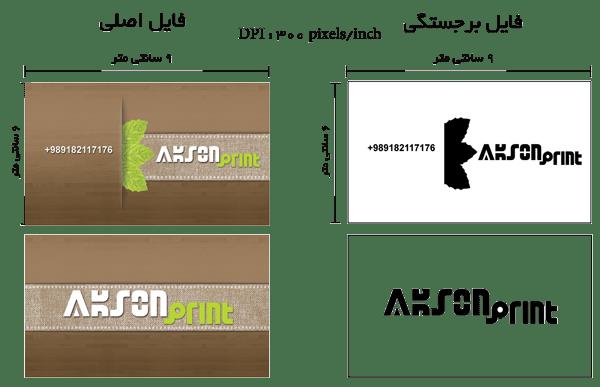 راهنمای آموزش طراحی کارت برجسته